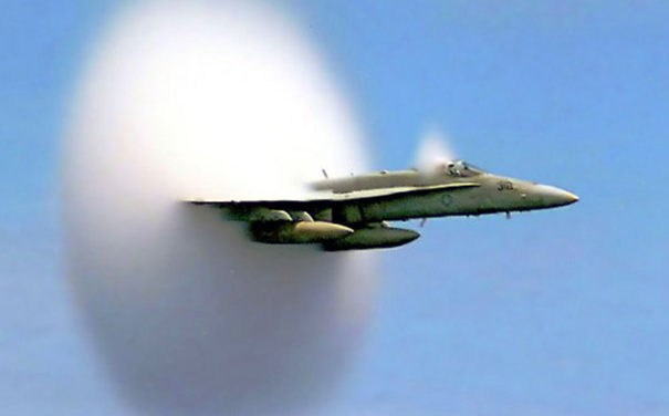 UFOs move faster than sound without any sonic boom!