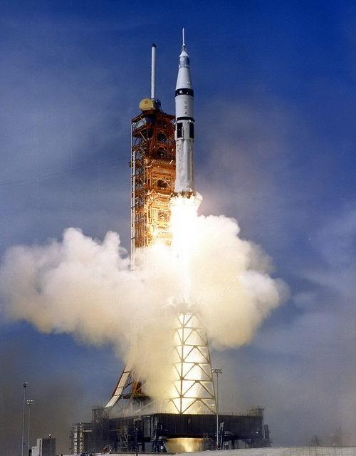 The Apollo 18 space capsule mission (1975)